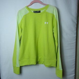 UA Under Armour LS Loose Fit Mesh Sleeve Pullover